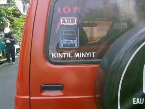 "Asal Muasal Nama ""KintilMinyit"""