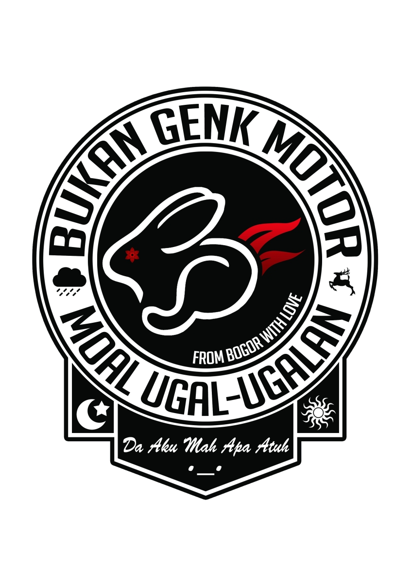 Logo BGM (Bukan Genk Motor) Bogor